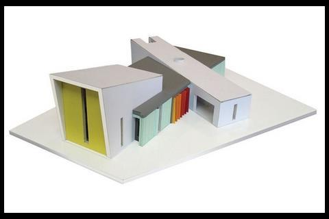 The practice's design for St Frideswydes New Church and community building in Thornton.